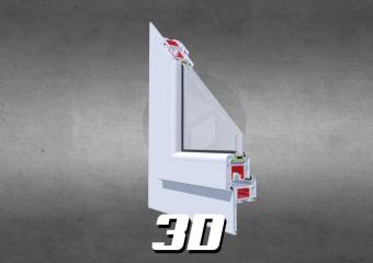 3D Clasictherm Renovo biały