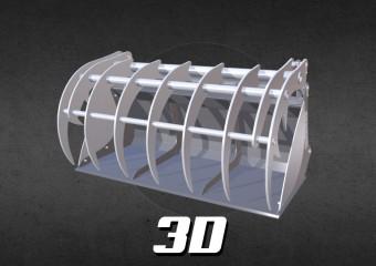 miniatura 3D Krokodyl ząb palony.jpg