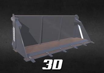 Łyżka 4w1 3D